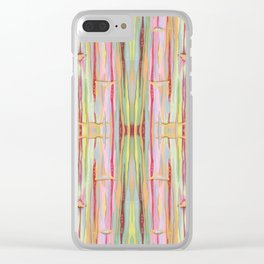 Stride Tie-Dye Clear iPhone Case