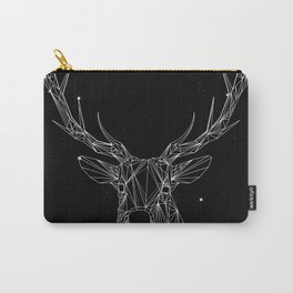 Deer with magnificent antlers of fine lines Carry-All Pouch