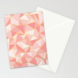 Ab Out Blush Gold Stationery Cards