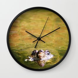 The King of the Turtles Wall Clock