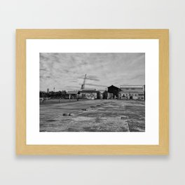 Urban Island Exploration Framed Art Print