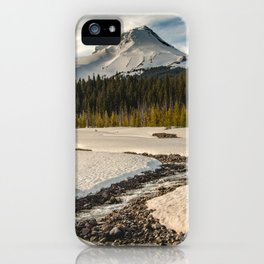 Marvelous Mount Hood at sunset iPhone Case