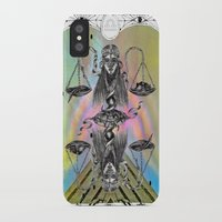 libra iPhone & iPod Cases featuring LIBRA by Caroline Vitelli GOODIES