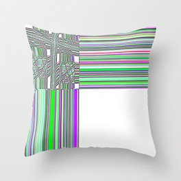 Re-Created Southern Cross XXIV by Robert S. Lee Throw Pillow