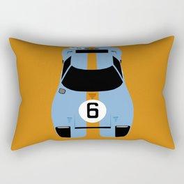 Gulf GT40 Rectangular Pillow