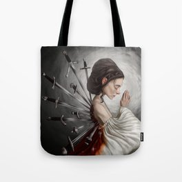 Wounds we can't heal Tote Bag