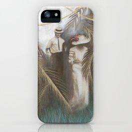 Mystery Maven iPhone Case