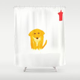 Spats Shower Curtain