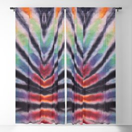 70s Spiral Pattern - Pride Blackout Curtain