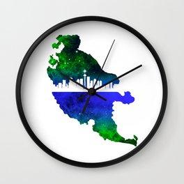 Seattle Islander Wall Clock