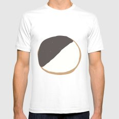 Cookie Mens Fitted Tee MEDIUM White