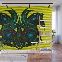 Gargoyles, modern and abstractly ... Wall Mural