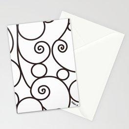 Parisian Scroll Stationery Cards