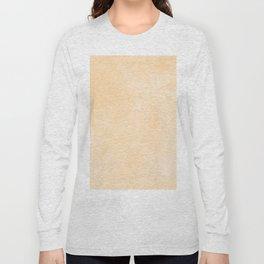 Simply Orange Sherbet Watercolor Long Sleeve T-shirt