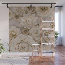 Paper Bouquet Wall Mural