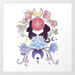 Crystal Universe Art Print