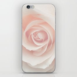 Blush Pink Rose iPhone Skin