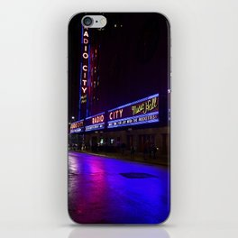 Reflections of Radio City Music Hall iPhone Skin