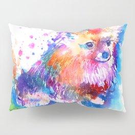 Pop Art Pomeranian Pillow Sham