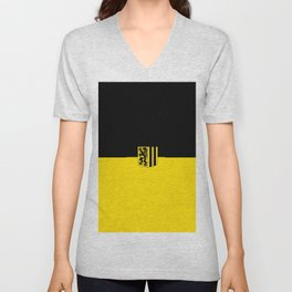 Flag of Dresden Unisex V-Neck