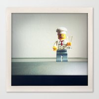 chef Canvas Prints featuring Chef by Christian Anderl