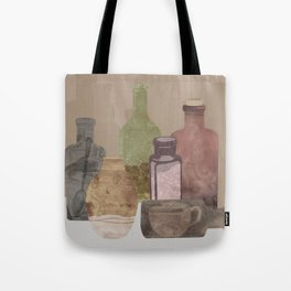 Deconstructed Coffee Tote Bag