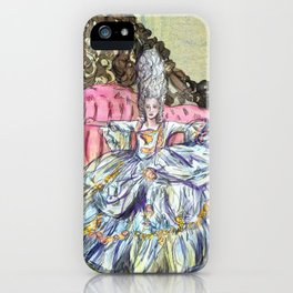 Rococo Woman  iPhone Case