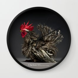 Chic!ken - Frizzle Chabo Wall Clock