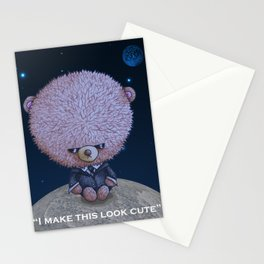 Ted in Black Stationery Cards