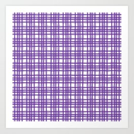 kariran (violet) Art Print
