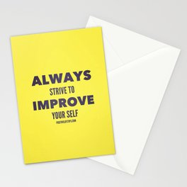 Improve Stationery Cards