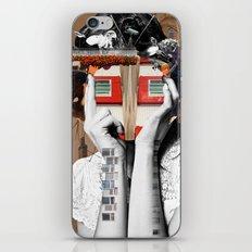 Crazy Woman - Lisa Lara Bella iPhone & iPod Skin