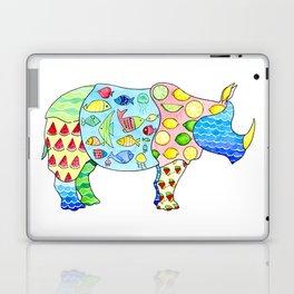 Rhino on Vacation Laptop & iPad Skin