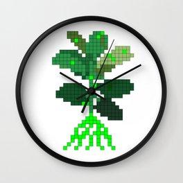 Plant Invader Wall Clock