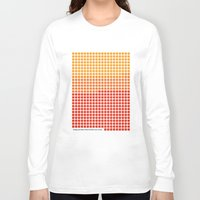 rothko Long Sleeve T-shirts featuring Orange and Yellow (Mark Rothko) color-sorted by Clemens Hellmund