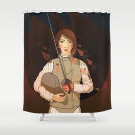 Vertex I Shower Curtain