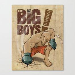 UFC Big Boys Canvas Print