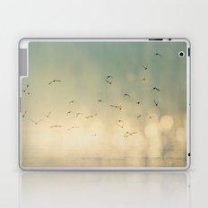 Where The Sky Meets The Sea  Laptop & iPad Skin