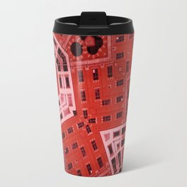 Difformed cityscape Travel Mug