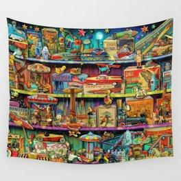 Toy Wonderama Wall Tapestry