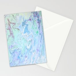 Swimming Lilies Stationery Cards