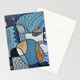Scratched Below the Surface Stationery Cards