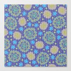 Kantha floral 4 Canvas Print
