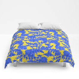 traditional flower ornament Comforters