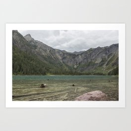 Avalanche Lake No. 2 - Glacier NP Art Print