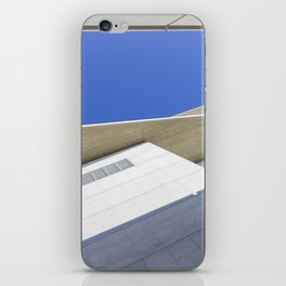 architectural detail of modern building iPhone Skin