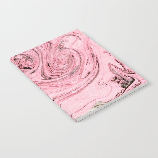 Nude+ Pink Marbling Art #society6 #decor #buyart Notebook
