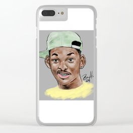 Fresh Prince Clear iPhone Case