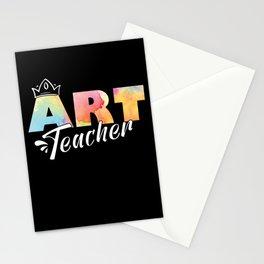 Art Teacher Teaching Student Arts Class Gifts Stationery Cards