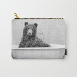 Brown Bear Bathtub Carry-All Pouch